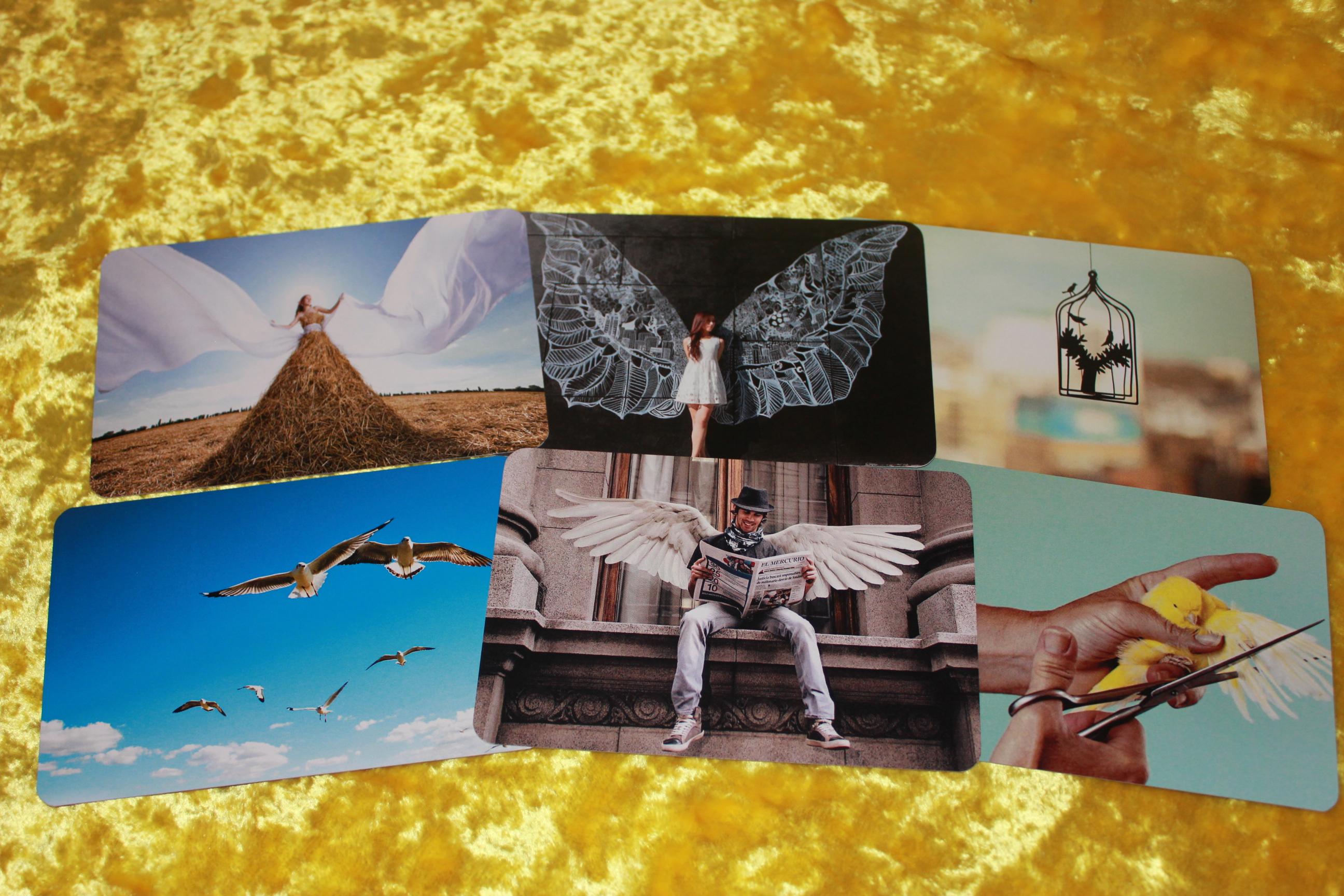 Метафорические ассоциативные карты «Крылья»