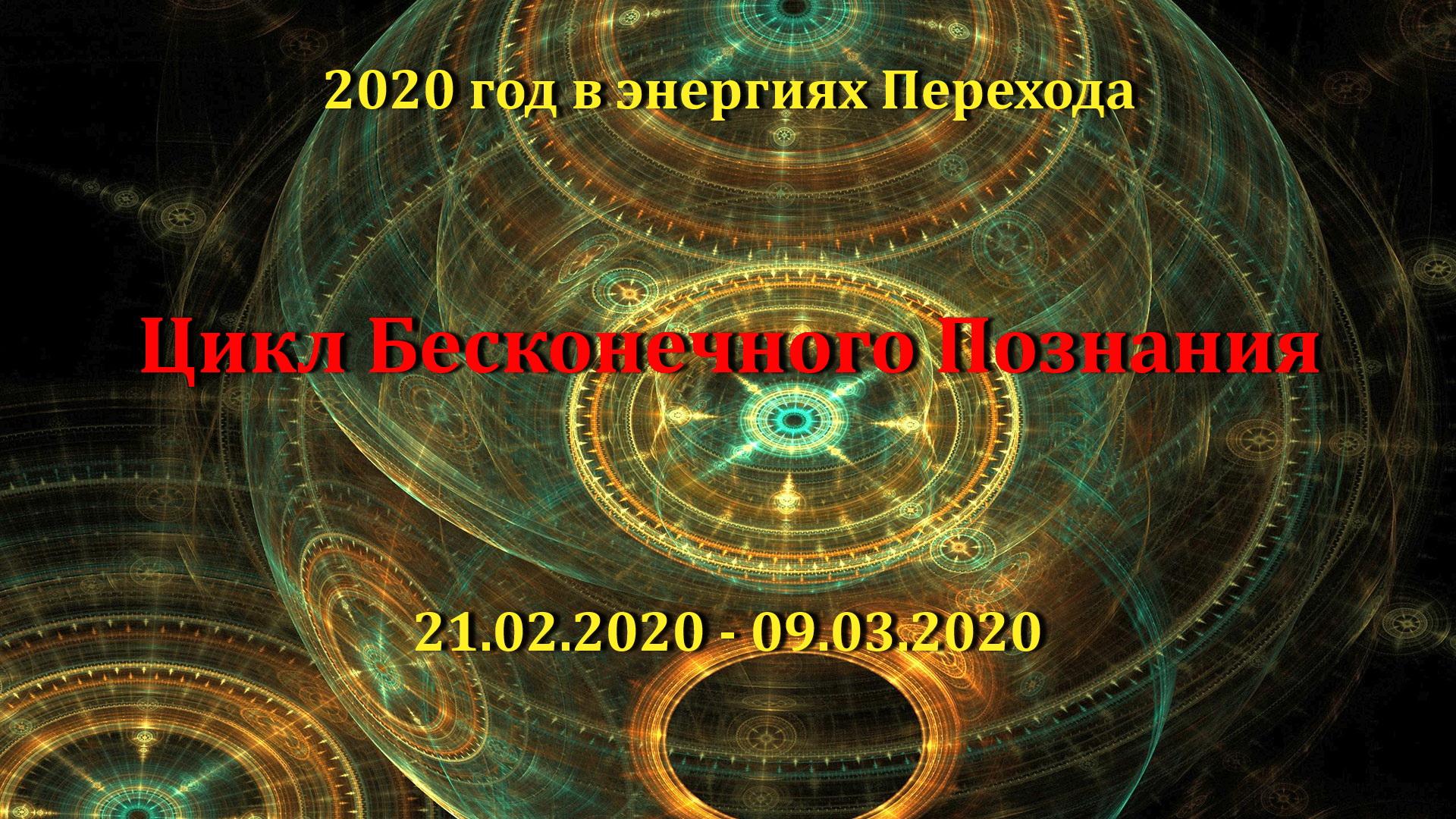 8-й цикл завершения 2020 года в энергиях Перехода