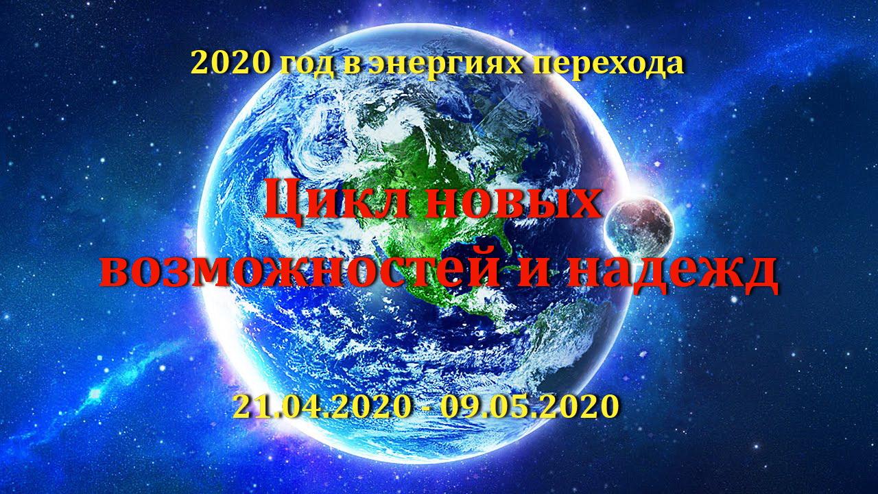 12-й цикл завершения в энергиях Перехода