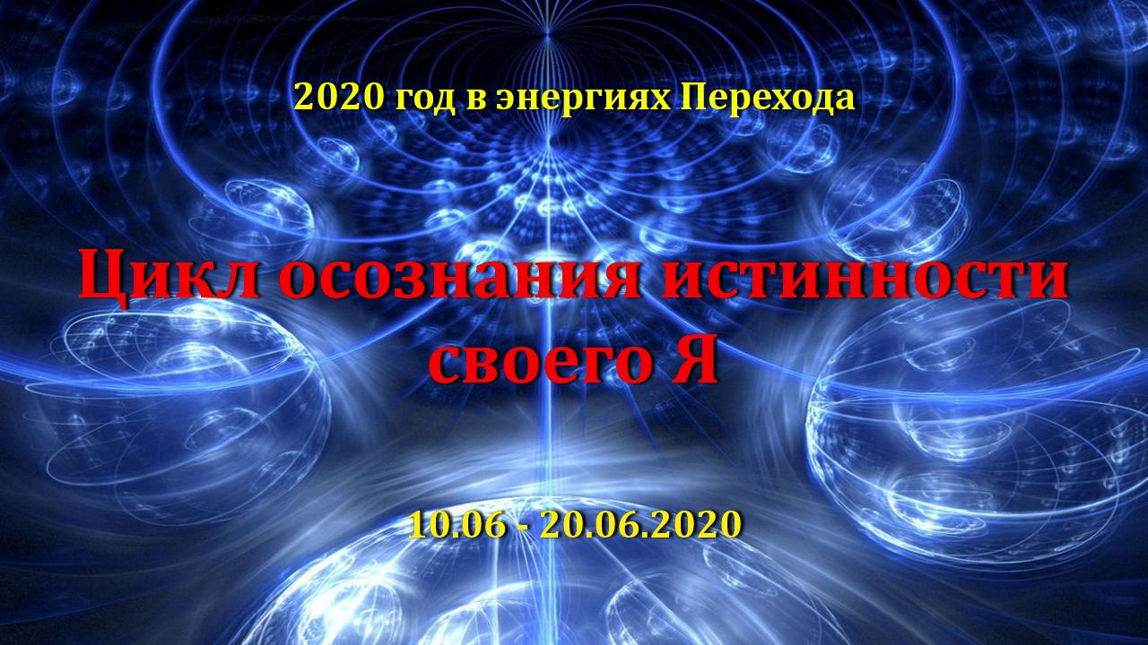 15-й цикл завершения в энергиях Перехода Цикл осознания Истинности Точка завершения – 20.06.2020